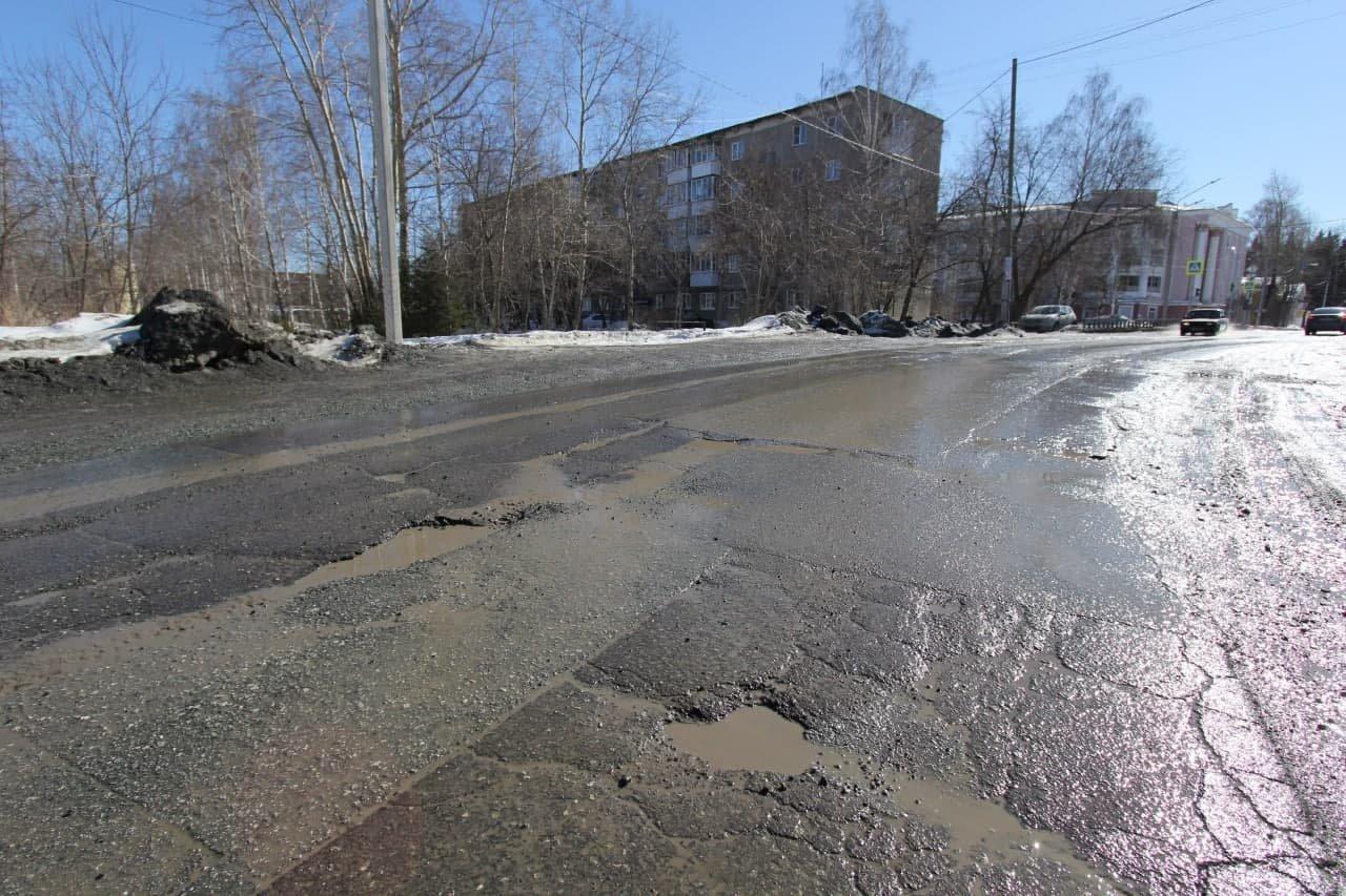 На ремонт дорог холодным асфальтом в Ульяновске направлены 59 единиц техники, фото-1