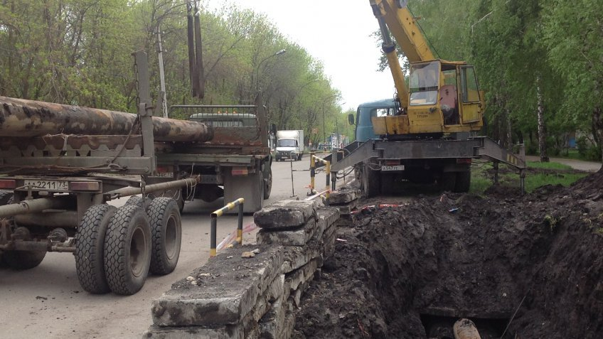 В Ульяновске выявлено 22 порыва в ходе гидравлических испытаний , фото-1