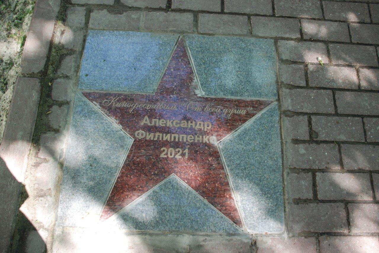 В Ульяновской области на аллее Международного фестиваля «От всей души» открыли памятный знак , фото-1