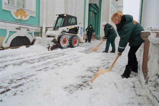 Спецкомиссия будет контролировать зимнюю уборку дворов в Ульяновске, фото-1